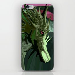 Watermelon Tourmaline Dragon iPhone Skin