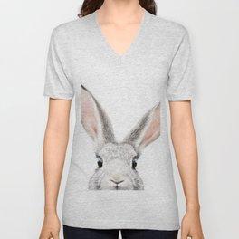 Hello Bunny Unisex V-Neck