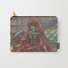 Witch and her Cats Carry-All Pouch