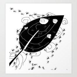 Blatt Art 2 Art Print