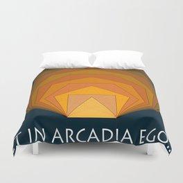 Et in Arcadia ego... Duvet Cover