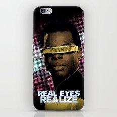 Geordi: Real Eyes Realize iPhone & iPod Skin