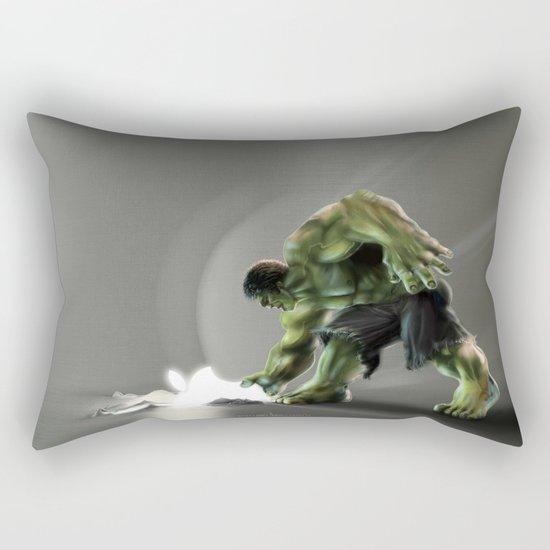 Puny Apple..... Rectangular Pillow