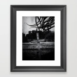 Ignorance In The Midst Of Infinity Framed Art Print