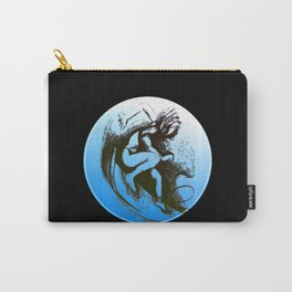 Surfer Girl black Carry-All Pouch