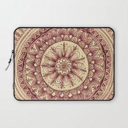 mandala: maroon Laptop Sleeve