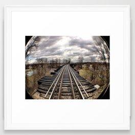 Winter Forever Framed Art Print