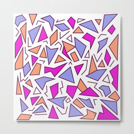Retro Shapes 03 Metal Print