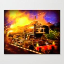 The Flying Scotsman Canvas Print