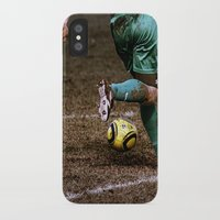 football iPhone & iPod Cases featuring Football by Goncalo