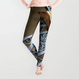 Metal Design Leggings