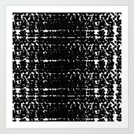 Black mood Art Print