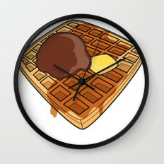 Waffle Time is Anytime. Wall Clock
