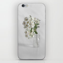 Spirea in vial art #2 iPhone Skin