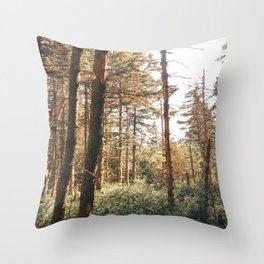 Ethereal Meadow Throw Pillow