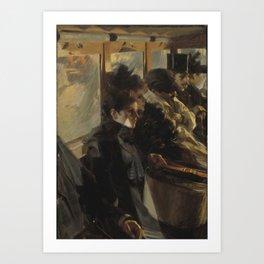 Omnibus - Anders Zorn Art Print
