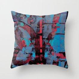 disquiet nine (uma confiança quebrada) Throw Pillow