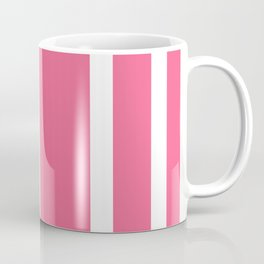 Striped Ombre in Cotton Candy Pink Coffee Mug