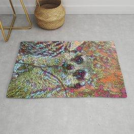 Abstract Meerkat Rug