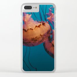 Jellyfish (Water) Clear iPhone Case