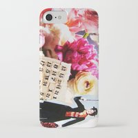 mary poppins iPhone & iPod Cases featuring Mary Poppins by Patti Friday