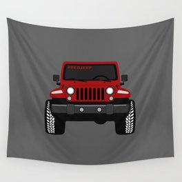 Simply RED Wall Tapestry