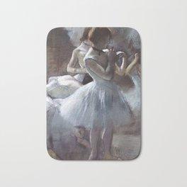 Dancers by Edgar Degas Bath Mat