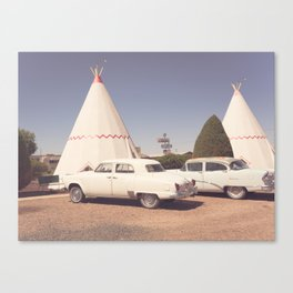 Sleep at the Wigwam Canvas Print
