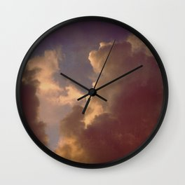 After the Storm (Blue Version) Wall Clock