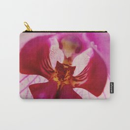 Close up Orchid #2 Carry-All Pouch