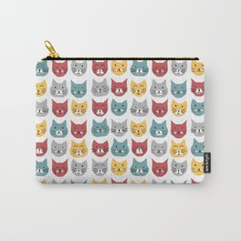Kittens pattern Carry-All Pouch