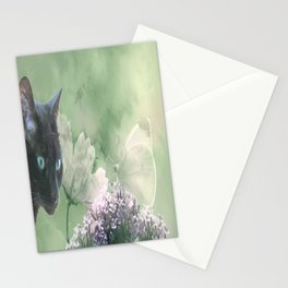 Eye contact ;0) Stationery Cards