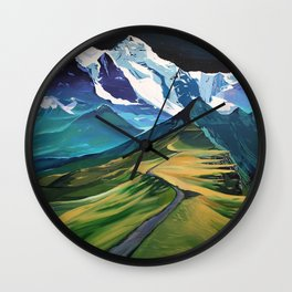 The Hike Wall Clock
