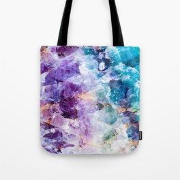 Multicolor quartz texture Tote Bag