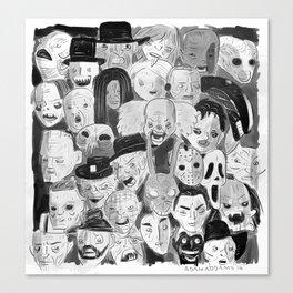 Movie Maniacs Canvas Print