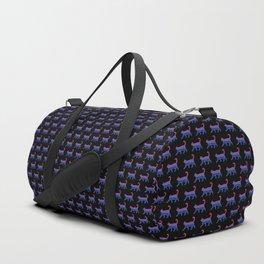 Bi Pride Cat Duffle Bag