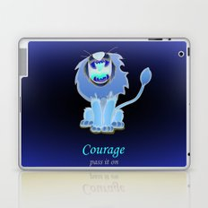 oz-courage Laptop & iPad Skin