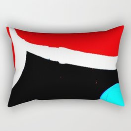graffiti abstract london Rectangular Pillow