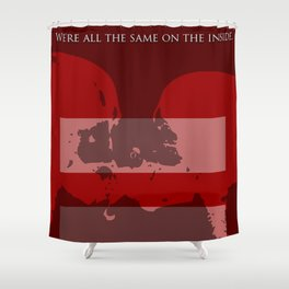 We are all equal Shower Curtain