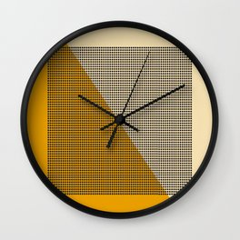Farbe//Four Wall Clock
