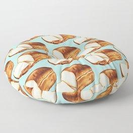 Bread Pattern Floor Pillow