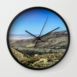 Crystal Mountain on the Pacific Crest Trail Wall Clock