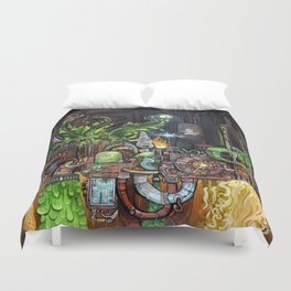 Contraption of Waste Duvet Cover
