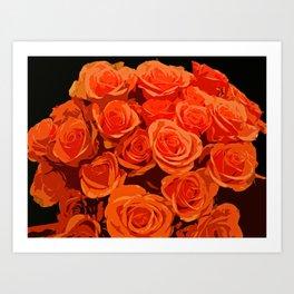 Bountiful Bouquet-d Art Print