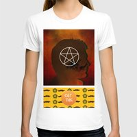 winchester T-shirts featuring dean winchester by Papa-Paparazzi