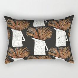 Autumn Still Life with Pampas Grass Rectangular Pillow
