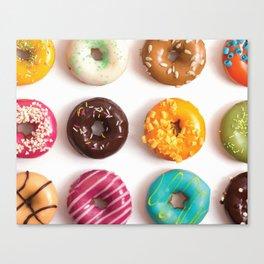 I Donut Care Canvas Print