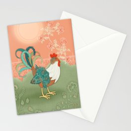 I've Got To Crow Stationery Cards