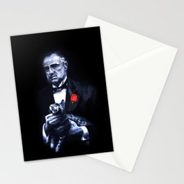 Don Vito Corleone The Godfather Stationery Cards