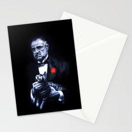 Don Vito Corleone The Godfather Stationery Cards